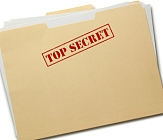 SECRET evidence is used aganst you, evidence not revealed to ou or to your lawyer